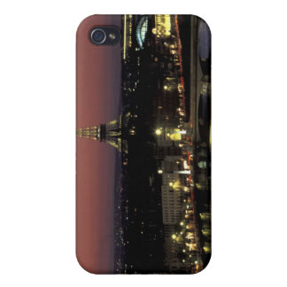 Europe, France, Paris, Sunset view of Eiffel iPhone 4/4S Cover