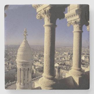 Europe, France, Paris, View of Paris through Stone Coaster