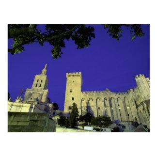 Europe, France, Provence, Avignon. Palais des Postcard