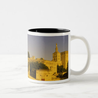 Europe, France, Provence, Avignon. Pont St, 2 Two-Tone Coffee Mug