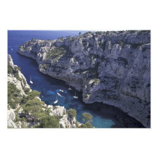 Europe, France, Provence, Calanques. Limestone Photo Print