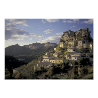 Europe, France, Provence, La Roque Alric, Poster