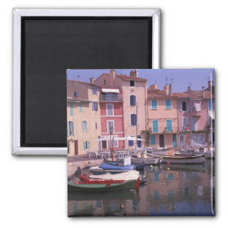 Europe, France, Provence, Martigues. Mirror of Square Magnet