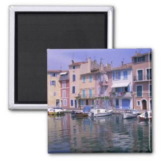 Europe, France, Provence, Martiques, Miroir Square Magnet