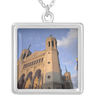 Europe, France, Rhone Valley, Vallee du Rhone, Square Pendant Necklace