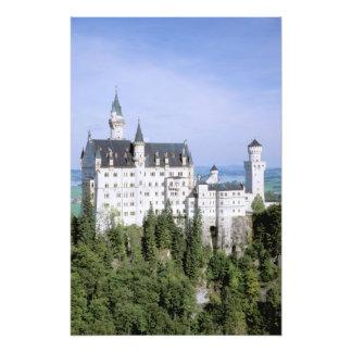 Europe, Germany, Neuschwanstein Castle, built Photograph