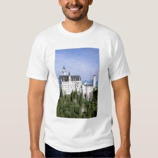 Europe, Germany, Neuschwanstein Castle, built T Shirts