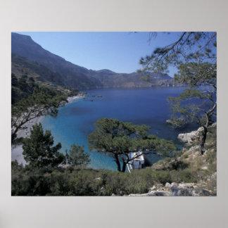 Europe, Greece, Karpathos, Dodecanese; Apella Poster