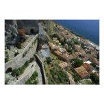 Europe, Greece, Peloponnese, Monemvasia Photo Art