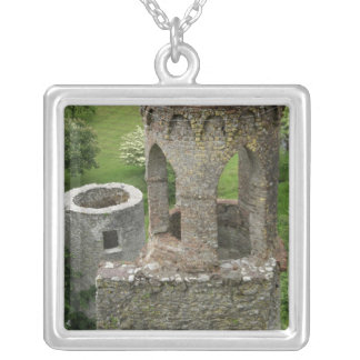 Europe, Ireland, Blarney Castle. THIS IMAGE Square Pendant Necklace