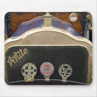 Europe, Ireland, Dublin. Vintage auto, White Mouse Pad