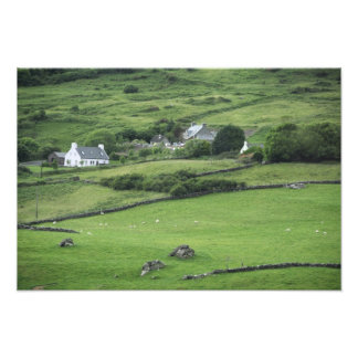 Europe, Ireland, Kerry County, Ring of Kerry. Photographic Print