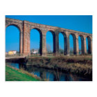 Europe, Italy. Aquaduct near Lucca. Postcard
