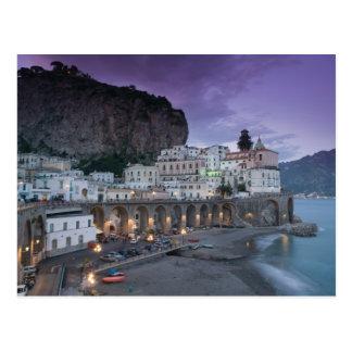 Europe, Italy, Campania (Amalfi Coast) Atrani: Postcard