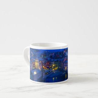 Europe, Italy, Cinque Terre, Vernazza. Hillside Espresso Cup