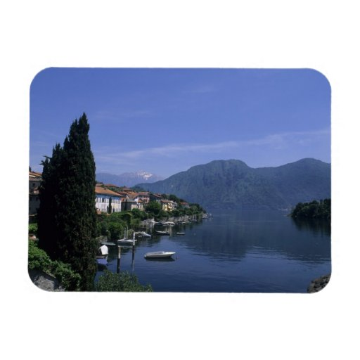 Europe, Italy, Lake Como, Tremezzo. Northern Rectangle Magnets