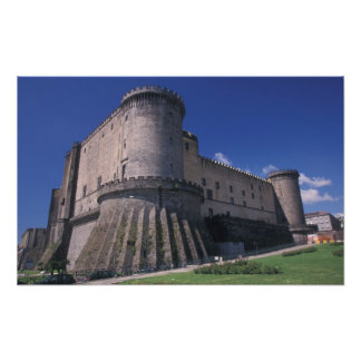 Europe, Italy, Naples, Castle Nuovo Photograph