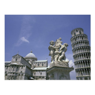 Europe, Italy, Pisa, Leaning Tower of Pisa Postcard
