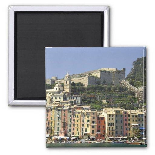 Europe, Italy, Portovenere aka Porto Venere. Refrigerator Magnets
