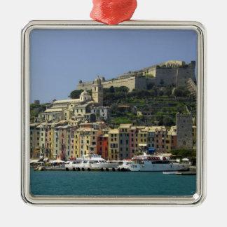 Europe, Italy, Portovenere aka Porto Venere. Metal Ornament