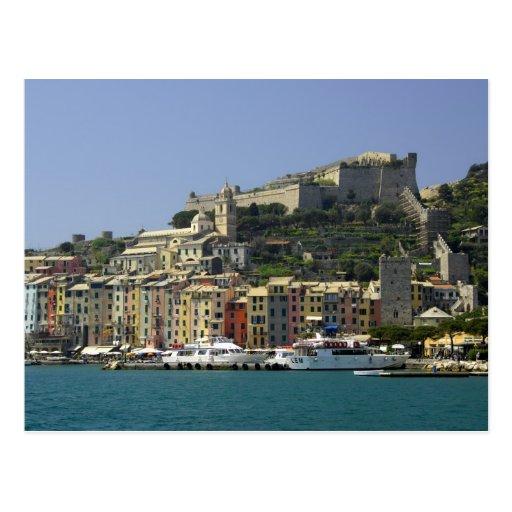 Europe, Italy, Portovenere aka Porto Venere. Post Card