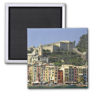 Europe, Italy, Portovenere aka Porto Venere. Square Magnet