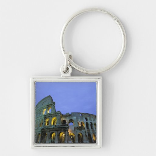 Europe, Italy, Rome. Evening view of the Keychain