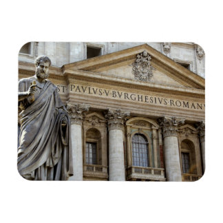 Europe, Italy, Rome. St. Peter's Basilica (aka 2 Rectangular Photo Magnet