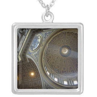 Europe, Italy, Rome. St. Peter's Basilica (aka Square Pendant Necklace