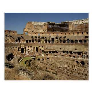 Europe, Italy, Rome. The Colosseum (aka Poster