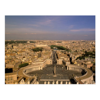 Europe, Italy, Rome, The Vatican. View from St. Postcard