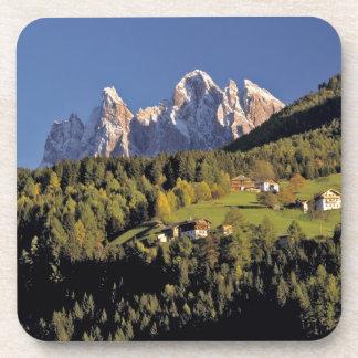 Europe, Italy, San Pietro. The Odle Group seem Coasters