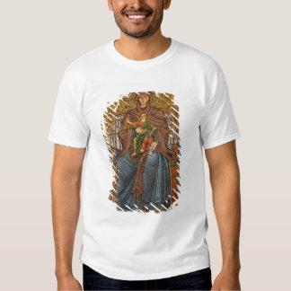 Europe, Italy, Sicily, Taormina. Madonna & child Tee Shirt