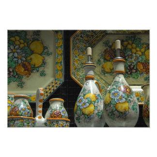 Europe, Italy, Sicily, Taormina. Traditional 5 Art Photo