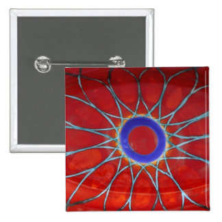 Europe, Italy, Sicily, Taormina. Traditional 6 15 Cm Square Badge