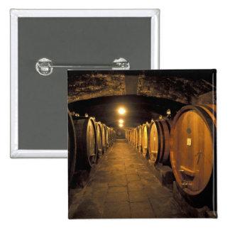 Europe, Italy, Toscana region. Chianti cellars 15 Cm Square Badge