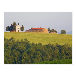 Europe; Italy; Tuscany, Chaple on The Hill Postcard