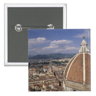 Europe, Italy, Tuscany, Florence. Piazza del 15 Cm Square Badge