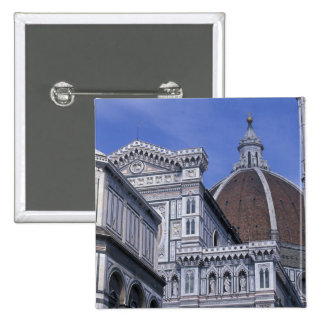 Europe, Italy, Tuscany, Florence. Piazza del 2 15 Cm Square Badge