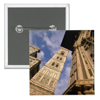 Europe, Italy, Tuscany, Florence. Piazza del 3 15 Cm Square Badge