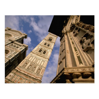 Europe, Italy, Tuscany, Florence. Piazza del 3 Postcard