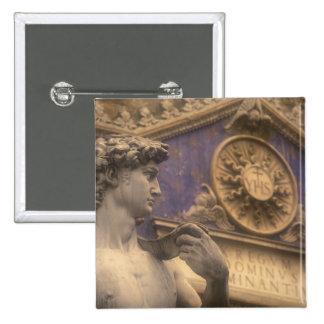 Europe, Italy, Tuscany, Florence, Piazza della 15 Cm Square Badge