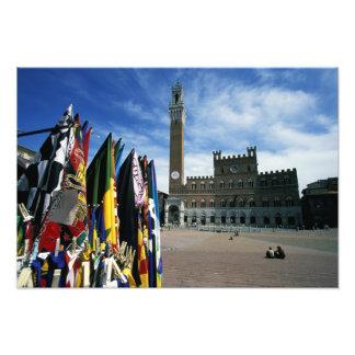 Europe, Italy, Tuscany, Siena. Piazza del Photo