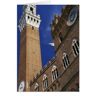 Europe, Italy, Tuscany, Siena. Torre del Card