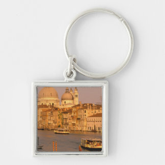 Europe, Italy, Veneto, Venice. Sunset view of Silver-Colored Square Key Ring