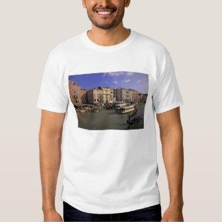 Europe, Italy, Venice, Boat traffic by Rialto Shirts