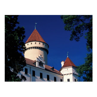 Europe, Konopiste Castle, Czech Republic, statue Postcard