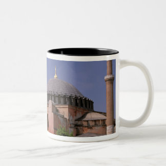 Europe, Middle East, Turkey, Istanbul. Aya Two-Tone Coffee Mug
