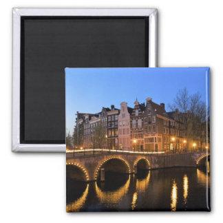 Europe, Netherlands, Holland, Amsterdam, Square Magnet