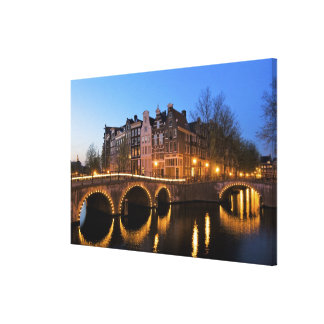 Europe, Netherlands, Holland, Amsterdam, Stretched Canvas Print